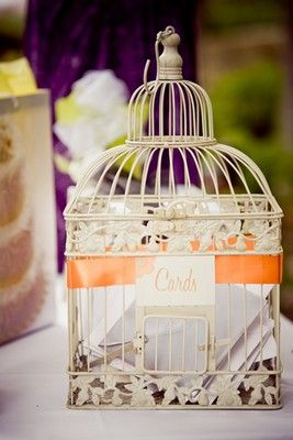 1000 images about mariage urne on pinterest - Urne Mariage Cage