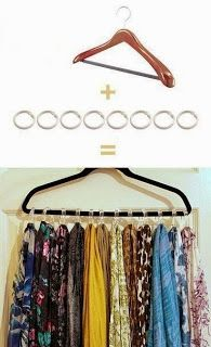 How to store scarves do it yourself tips pinterest scarves how to store scarves do it yourself solutioingenieria Images