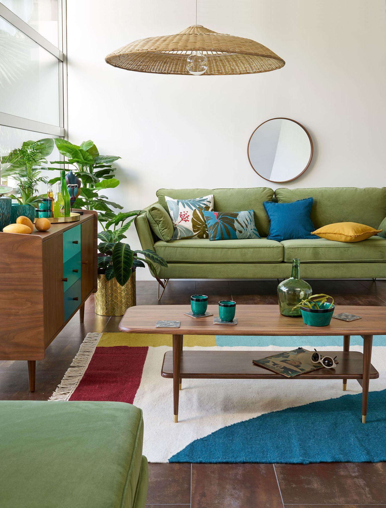 La Nouvelle Collection La Redoute Interieurs 2018 2019 Salon Vert Decoration Maison Mobilier Maison