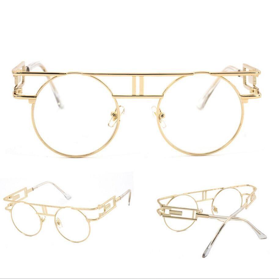 27d3d5137b6ef Steampunk round unisex sunglasses are retro and elegant. Features ...