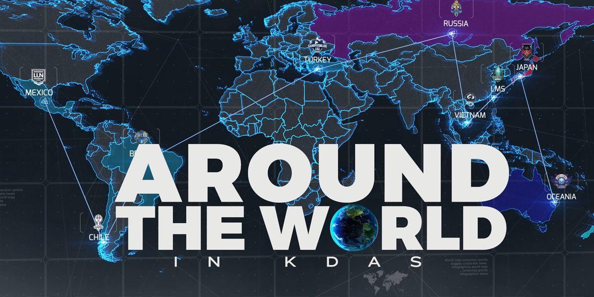 Meet the onair team Around The World In K/D/As