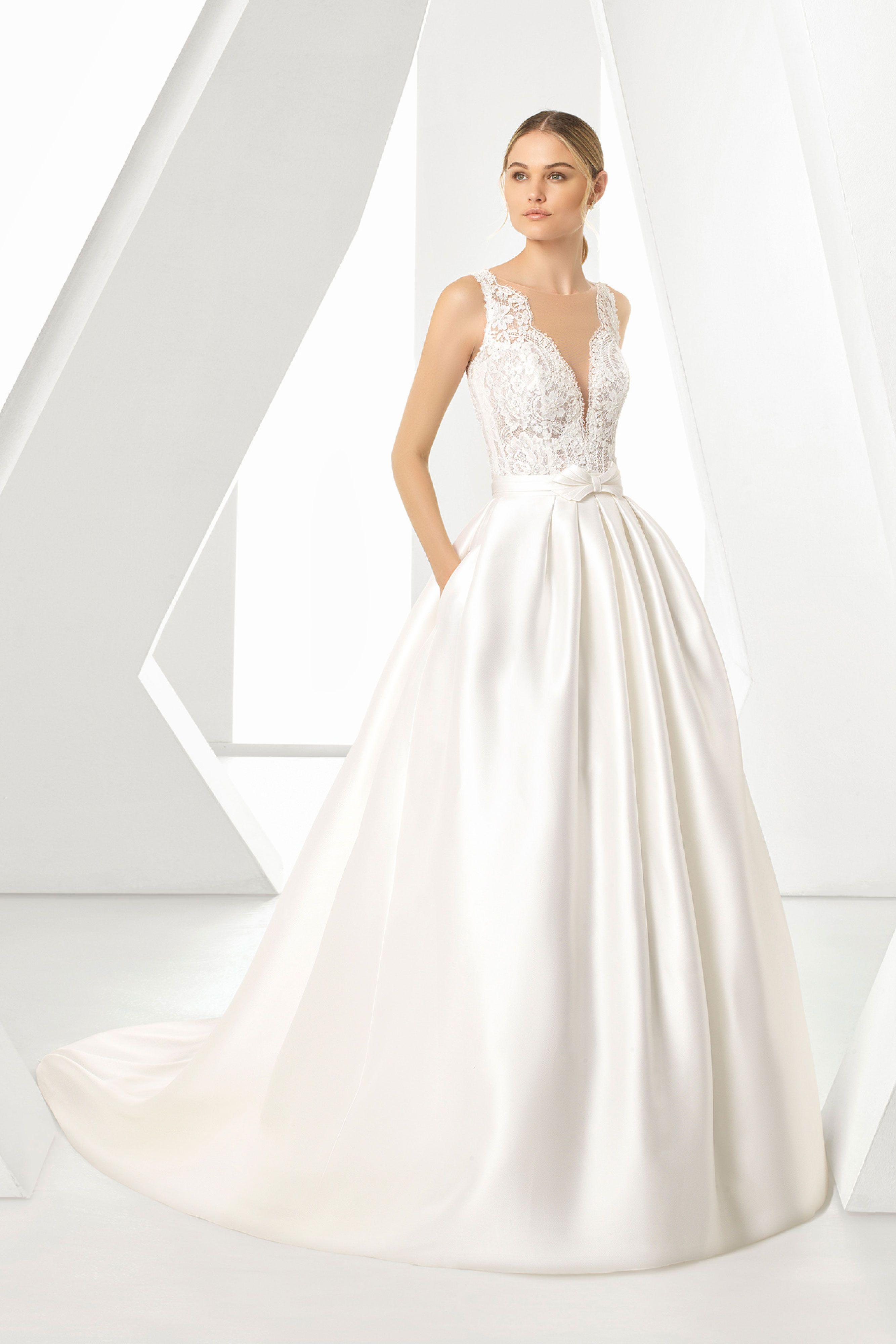 Brautmode Rosa Clara (mit Bildern)  Kleid hochzeit, Brautmode