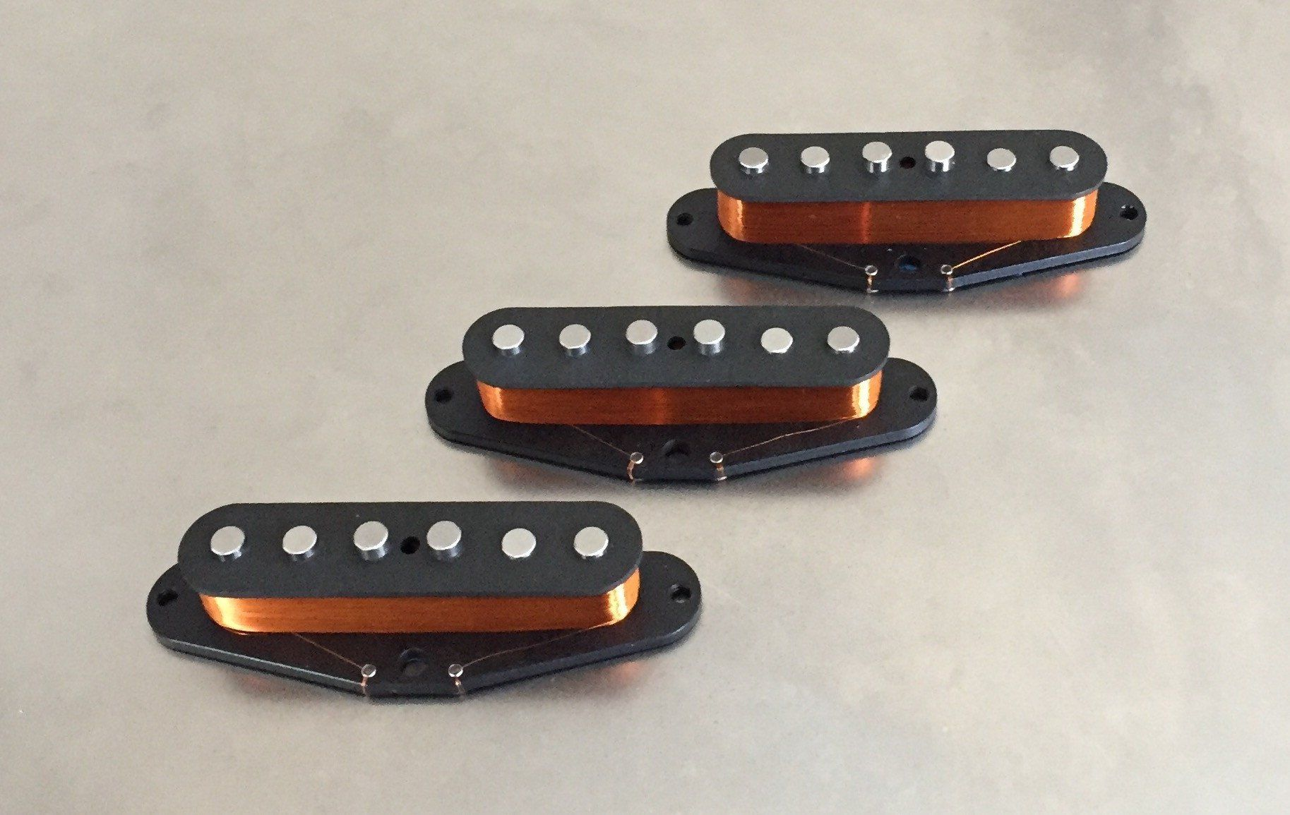 Ric Lutz Pickups Classic pickup set inspired by vintage 1959