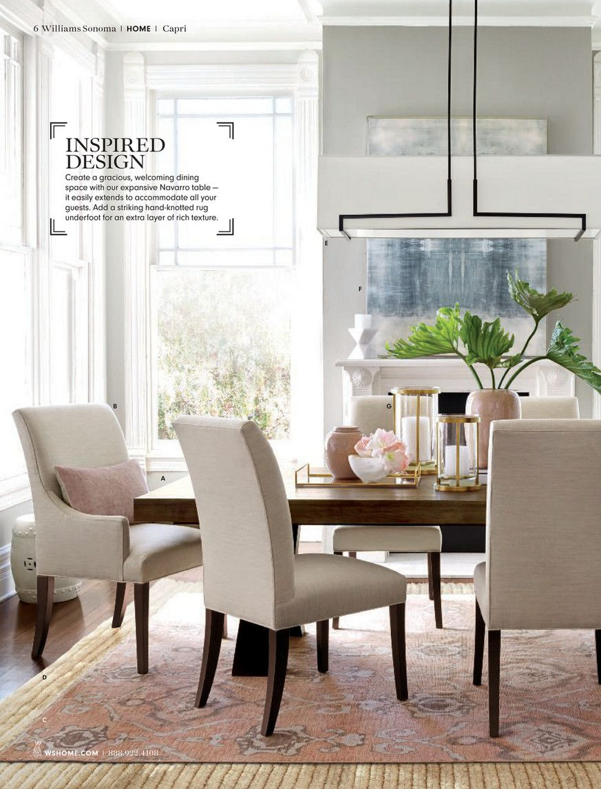 Williams Sonoma Home The Art Of Interiors 2018 Page 6 7