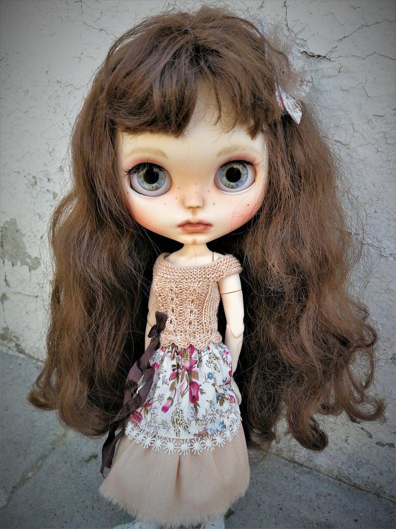 Custom Blythe doll to adopt - Mayline #dollcare