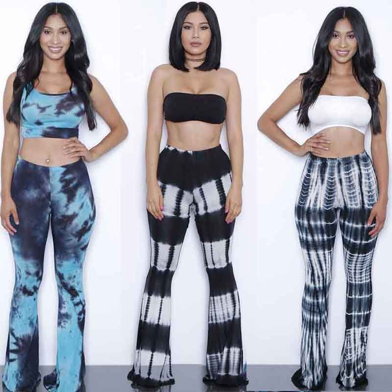 Plus Size Summer Women Sexy crop top and pants set 2 piece ...