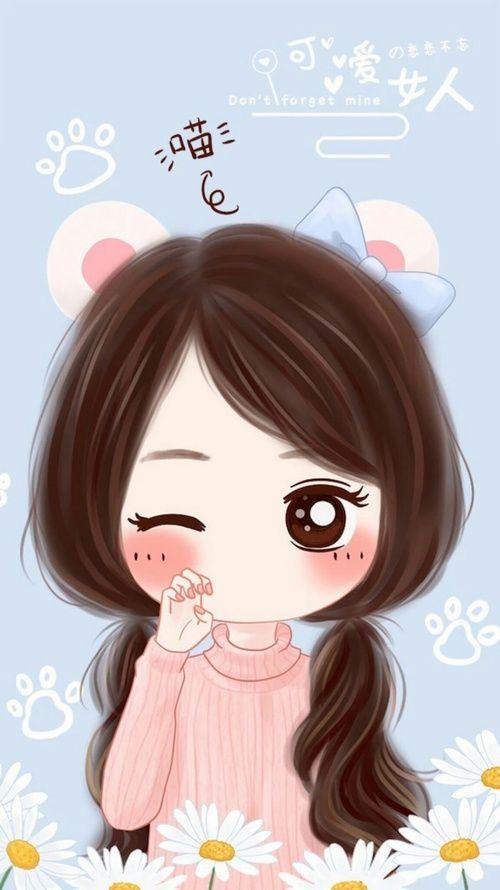 ร ปภาพ Art Drawing And Little Princess Cute Drawings Cute Cartoon Girl Kawaii Cute