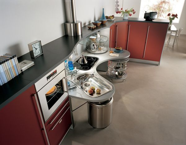 Snaidero Universal Design Kitchens Kitchen Design Accessible Kitchen Contemporary Kitchen