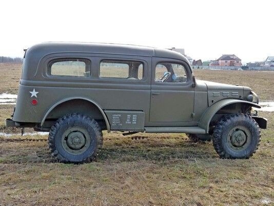 Dodge wc53 carryall military vehicles pinterest for Motor city towing dearborn