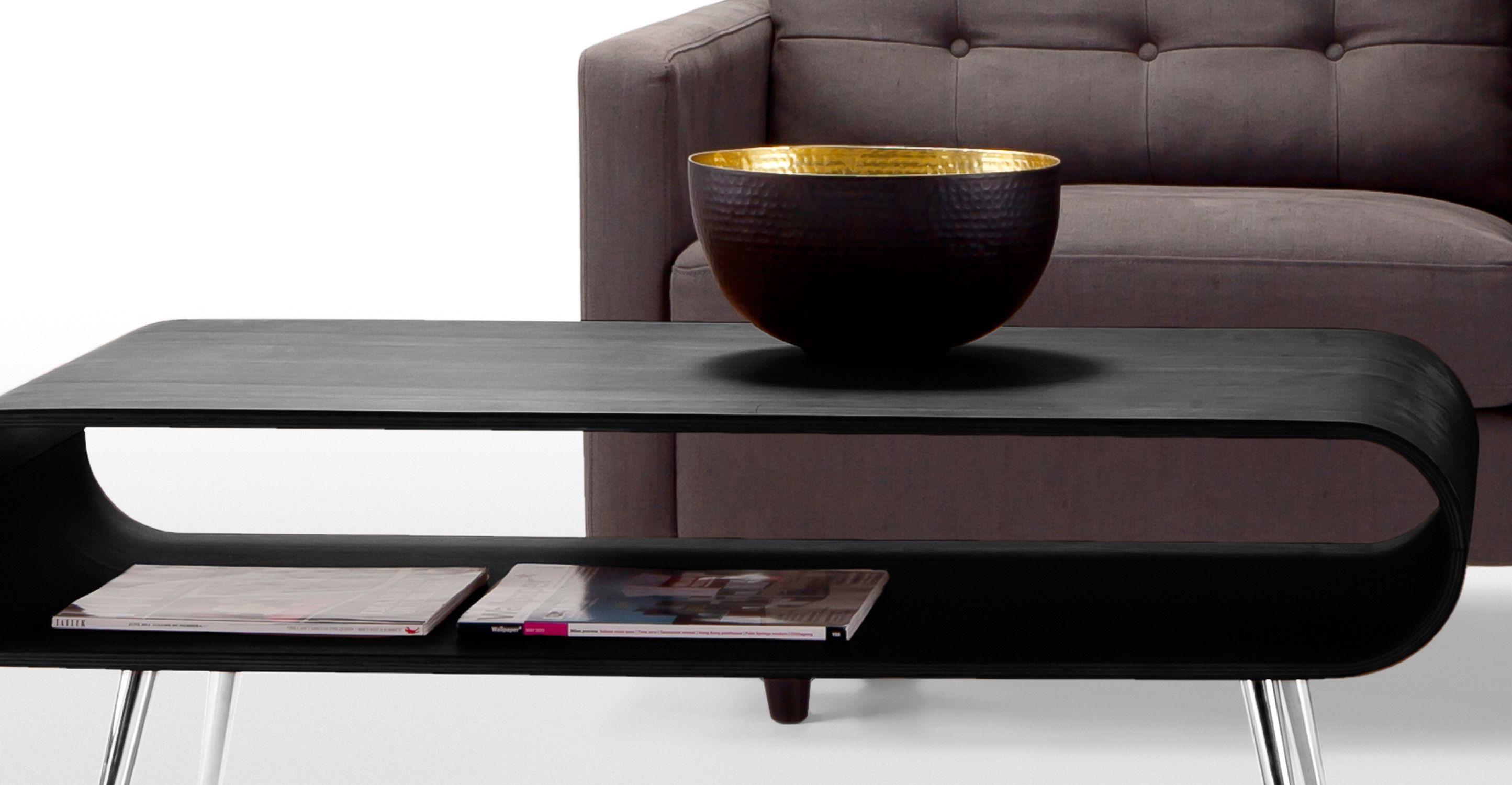 Hooper Storage Coffee Table Black
