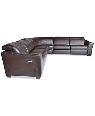 For My New Living Room Ultimate Leather Couch Macys