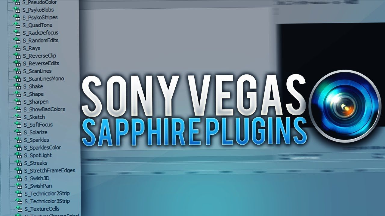 FREE Sapphire Plugins for Sony Vegas 15/16 (WORKING 2019!) | Sony