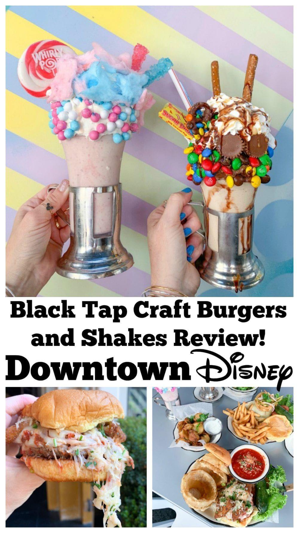 Photo of Black Tap Craft Burger und Shakes Bewertung Downtown Disney!