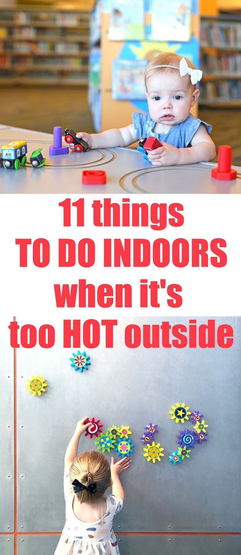 11 Fun Things To Do Indoors When It S Hot Outside Everyday Reading