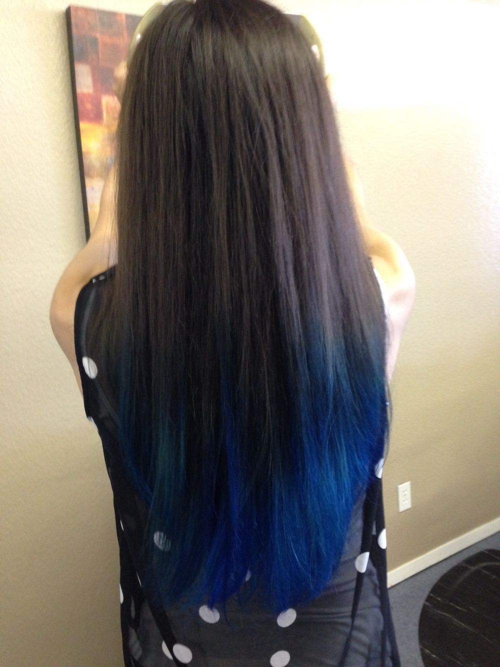 20 ombre blue colors hairstyles ideas   hairstyles   dyed