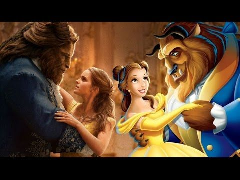 Beauty And The Beast REAL LIFE MOVIE Vs CARTOON All Characters 1991 2017