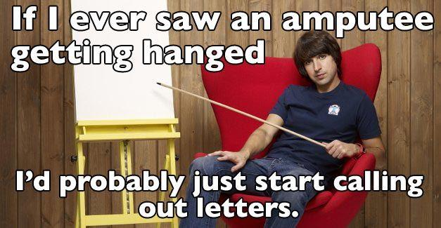 Hang man.