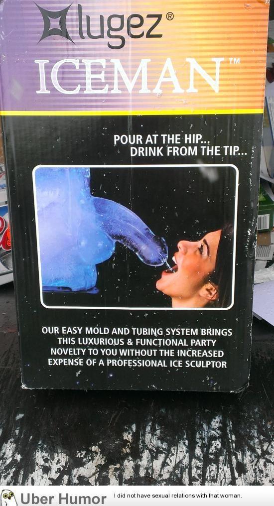 Interesting ice sculpture