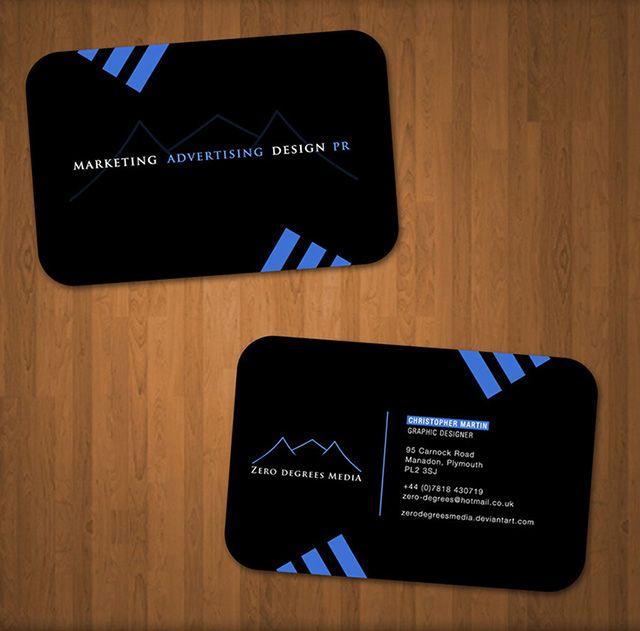 Prototype business cards designed for zero degrees media available prototype business cards designed for zero degrees media available for free download as psd file colourmoves