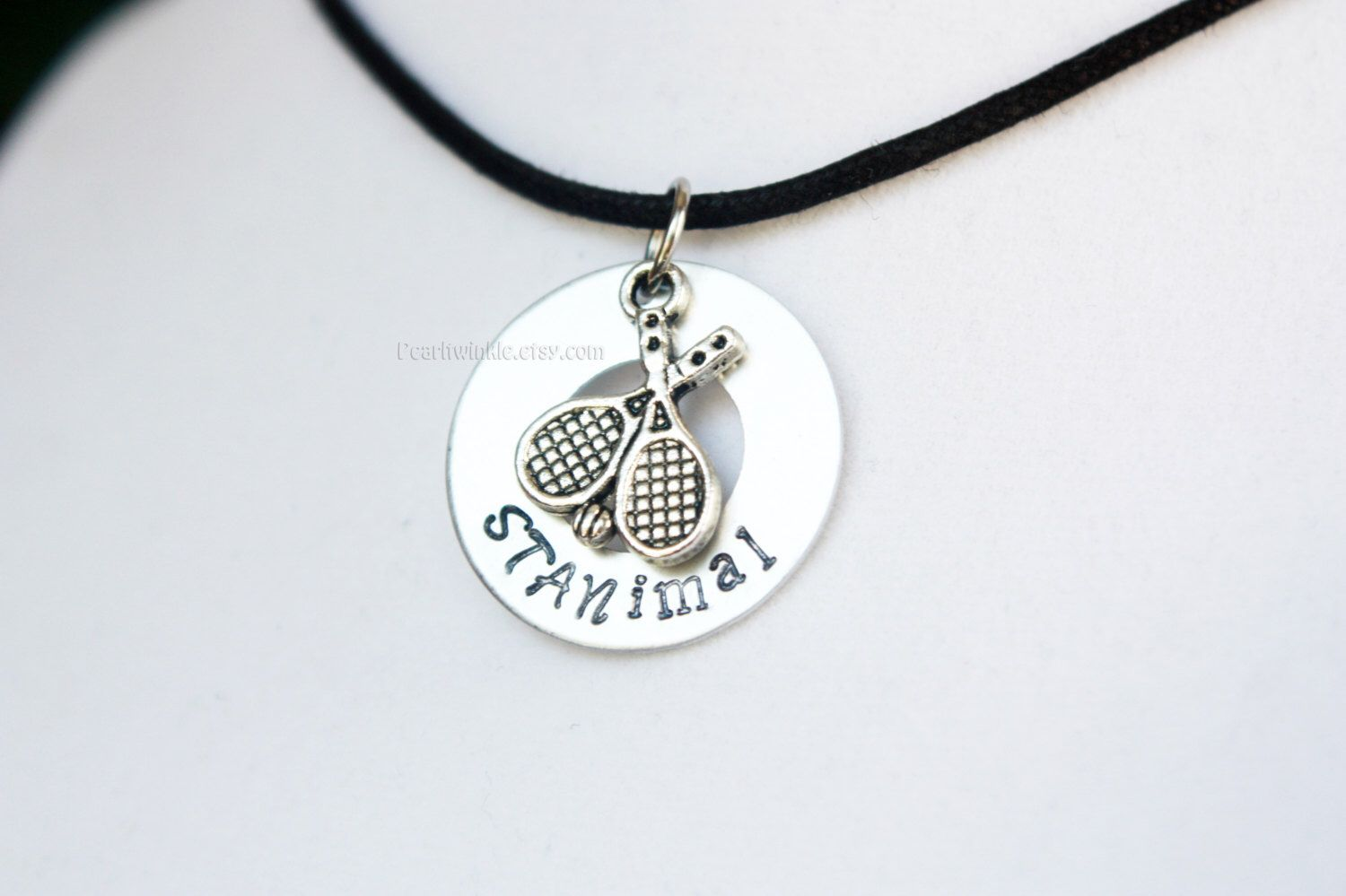 Stan wawrinka tennis pendant necklace stan the man stanimal stan wawrinka tennis racket pendant necklace stanimal stamped tennis charm keychain tennis mozeypictures Image collections
