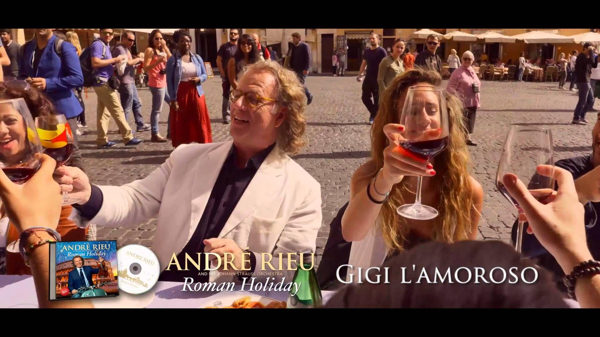 André Rieu about Gigi's love > André Rieu zu Gigi's Liebe