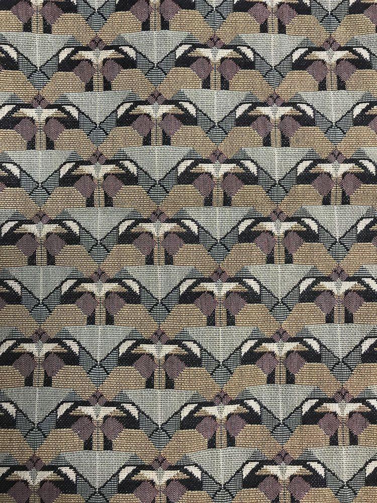 Frank Lloyd Wright Schumacher Tulip Tapestry Textile Design