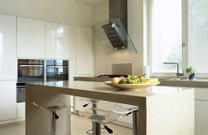Biała Kuchnia I Szara Podłoga Szukaj W Google Kitchen