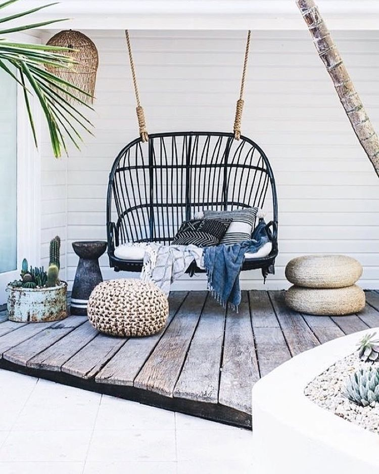 "6,058 Likes, 58 Comments - The Beach People (@thebeachpeople) on Instagram: ""Back porch afternoon hang outs... it's what Summer is made of... #thebeachpeople #home #inspiration…"""