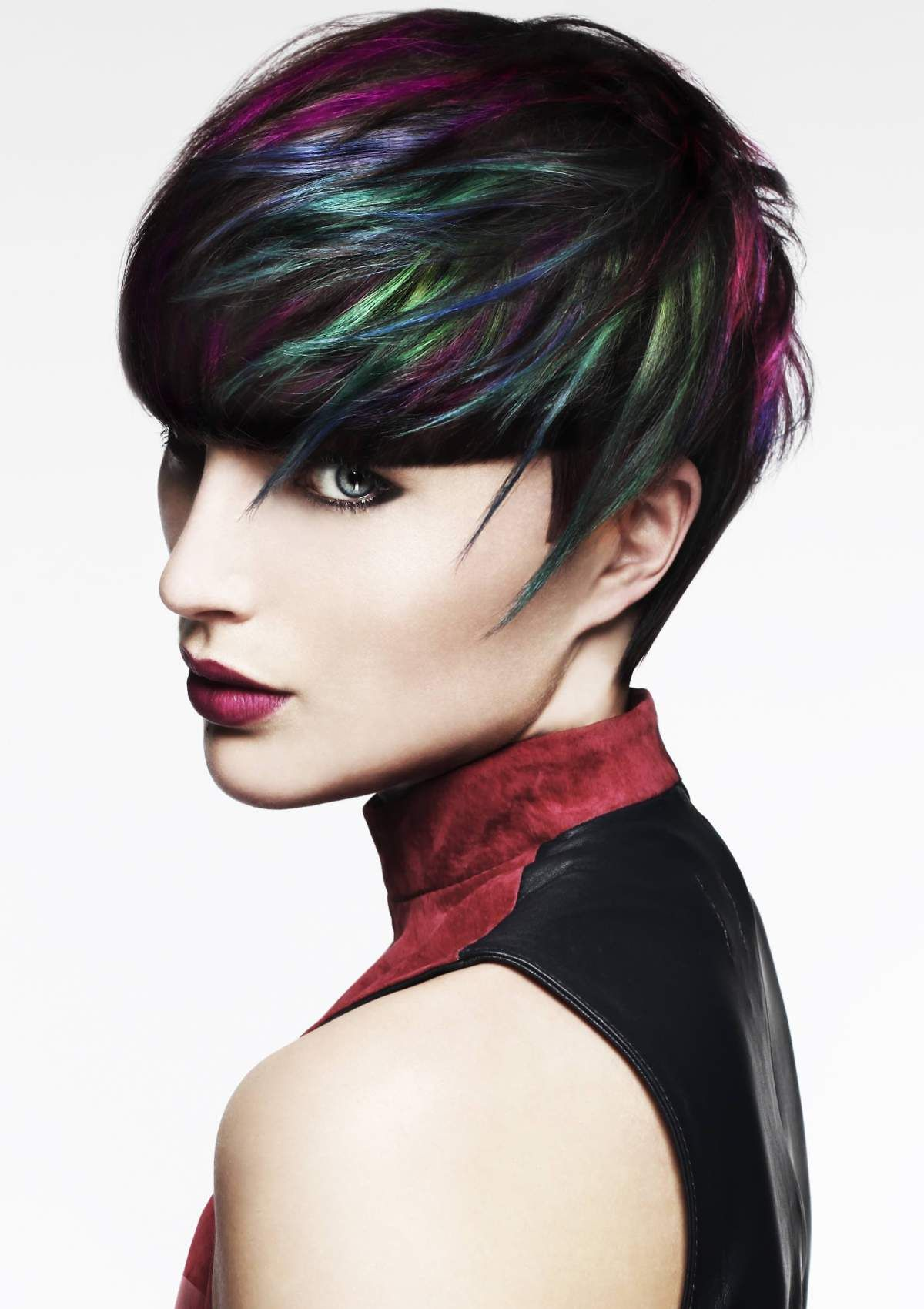Creative Colorist Finalists All About Hair Pinterest - Creative hairstyle color