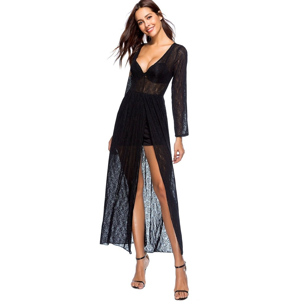 42dbc1768f Jasmine Sheer White Crop Top and Sexy Slit Beach Pants Set Co-Ord Swim Cover-Up  in 2019 | Our Beach Cover Ups Under $45 | Crop tops, Ruffle trim, ...