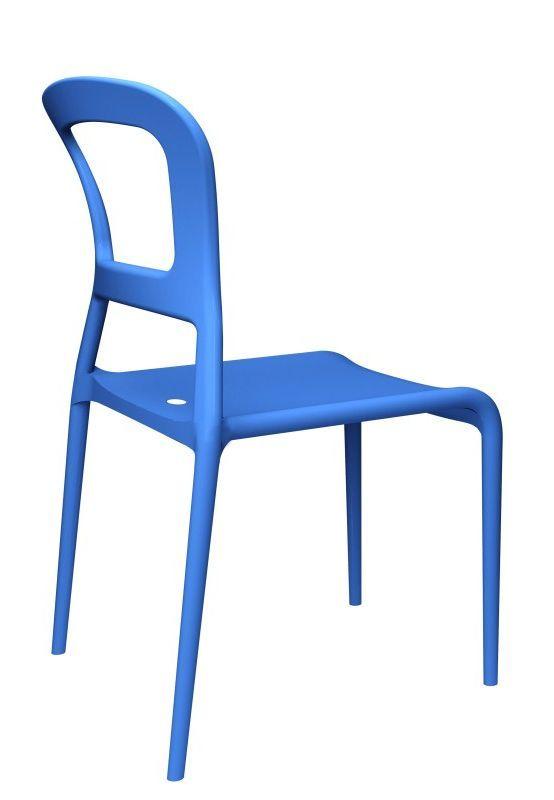Pepper Stoel - SCAB - blauw