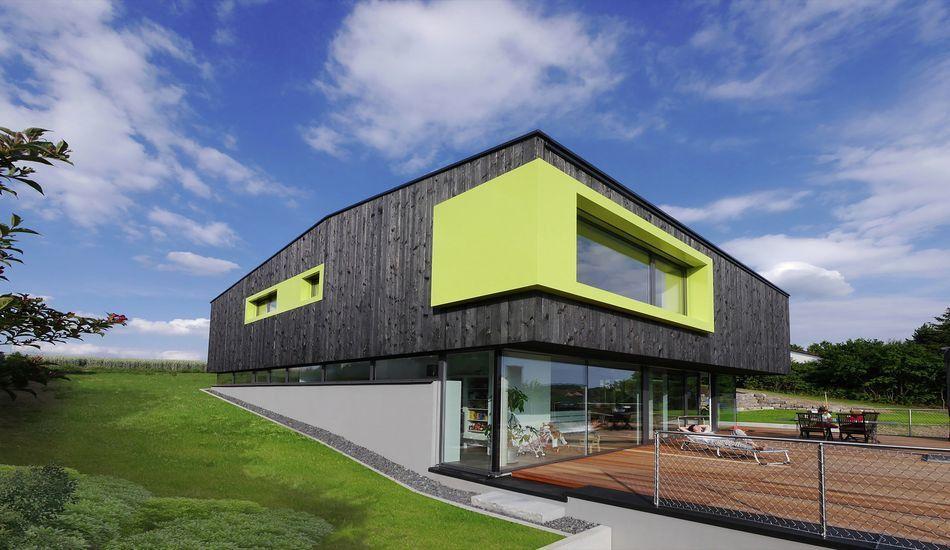 Admirable maison bois contemporaine éco-conçue en Allemagne