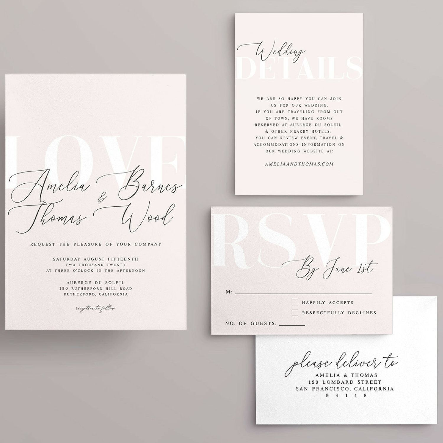 How to Word Your Wedding Invitations (Plus 12 Wedding