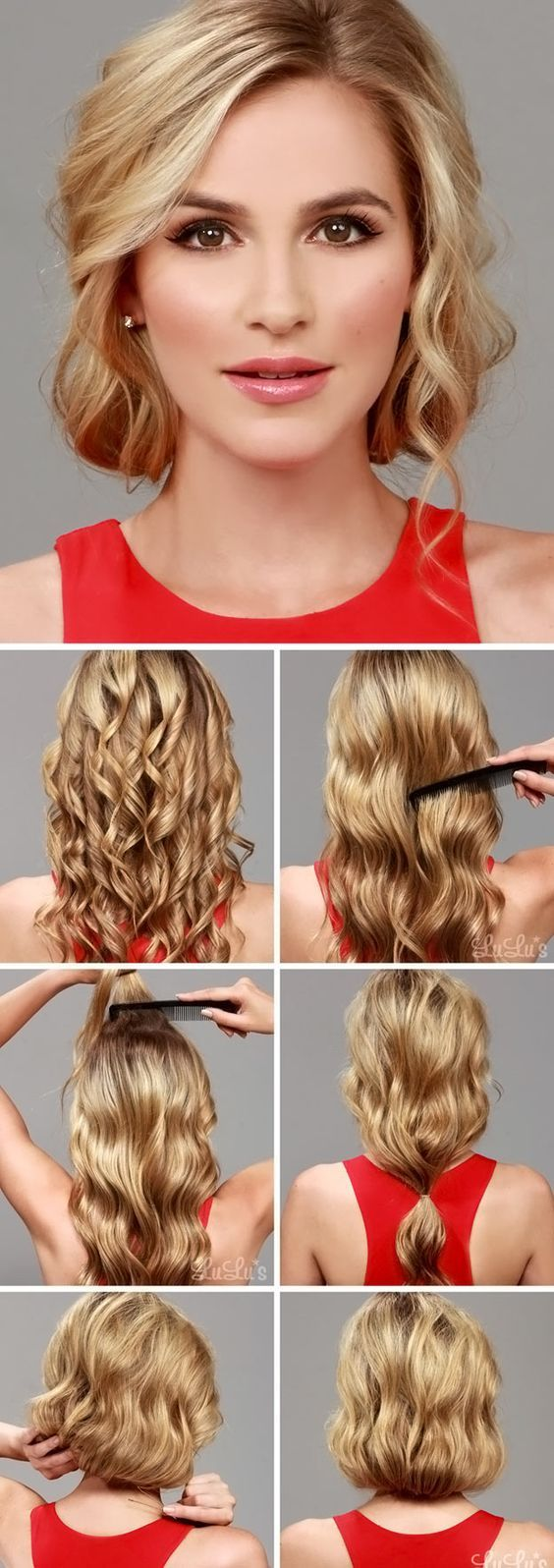 Whether You Are Going To School Work Family Function Or Even A Date Here Are Some Very Fast And Super Cute Hairstyles That Take Just A Couple Min Gatsby Hair