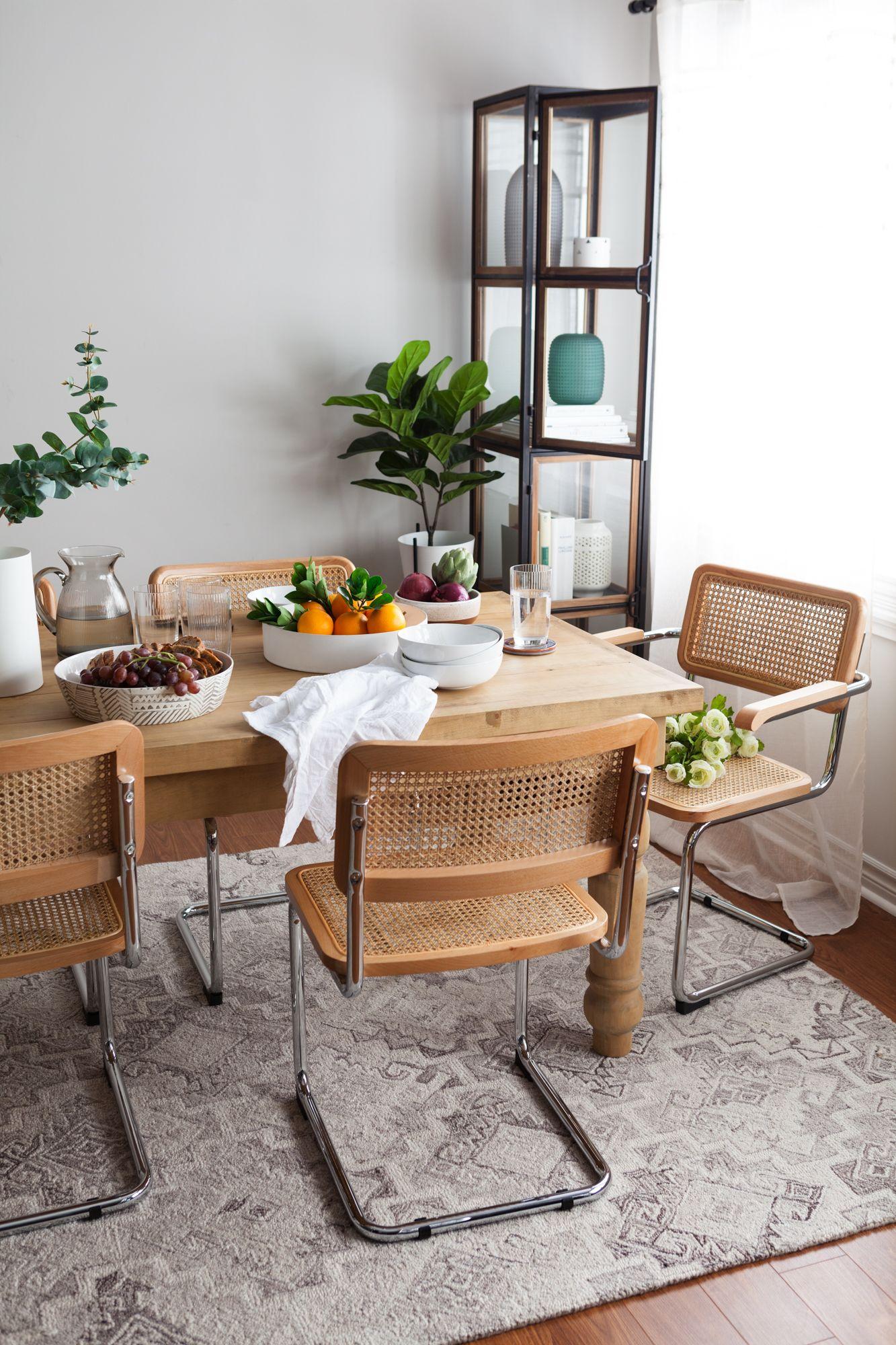 Bretagne grey dining table cm