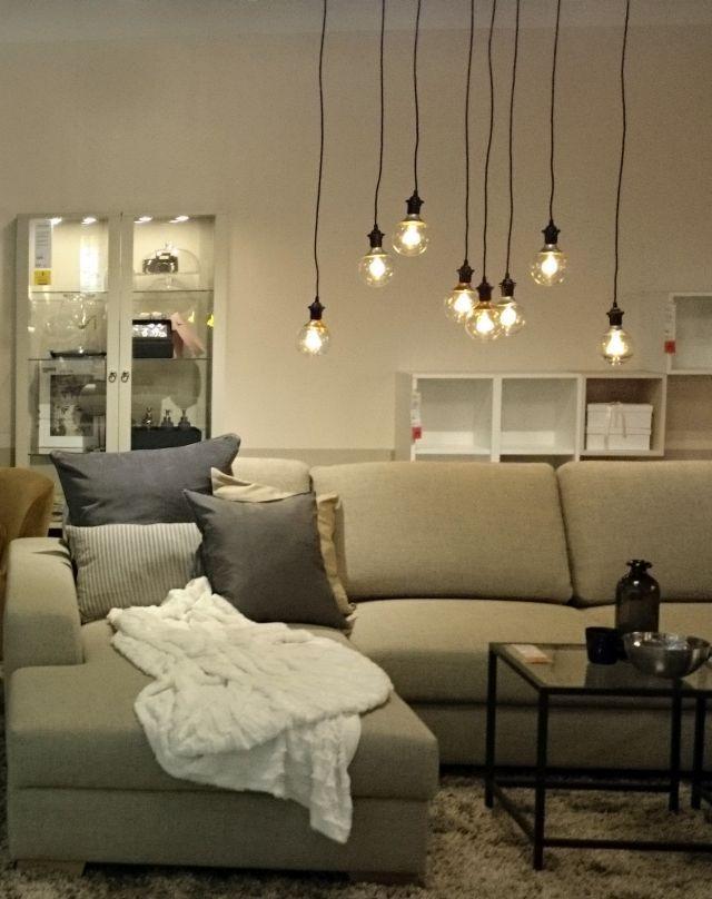 Ikea Hanover Living Room Like The Led Bulb Arrangement Home Decor Home Sweet Home