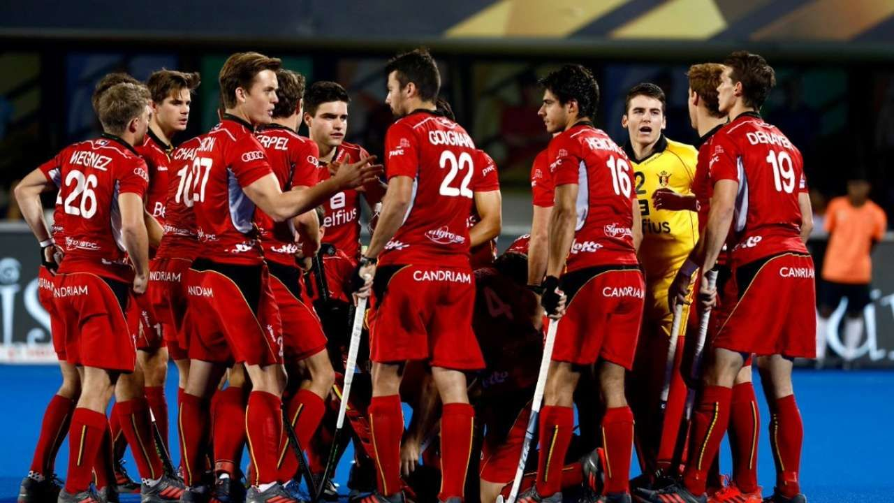 In A Dramatic Final Belgium Beat Netherlands In Penalty Shootout Clinch Maiden Title Check More At Https Trends With Images Mens Field Hockey Hockey Teams Field Hockey