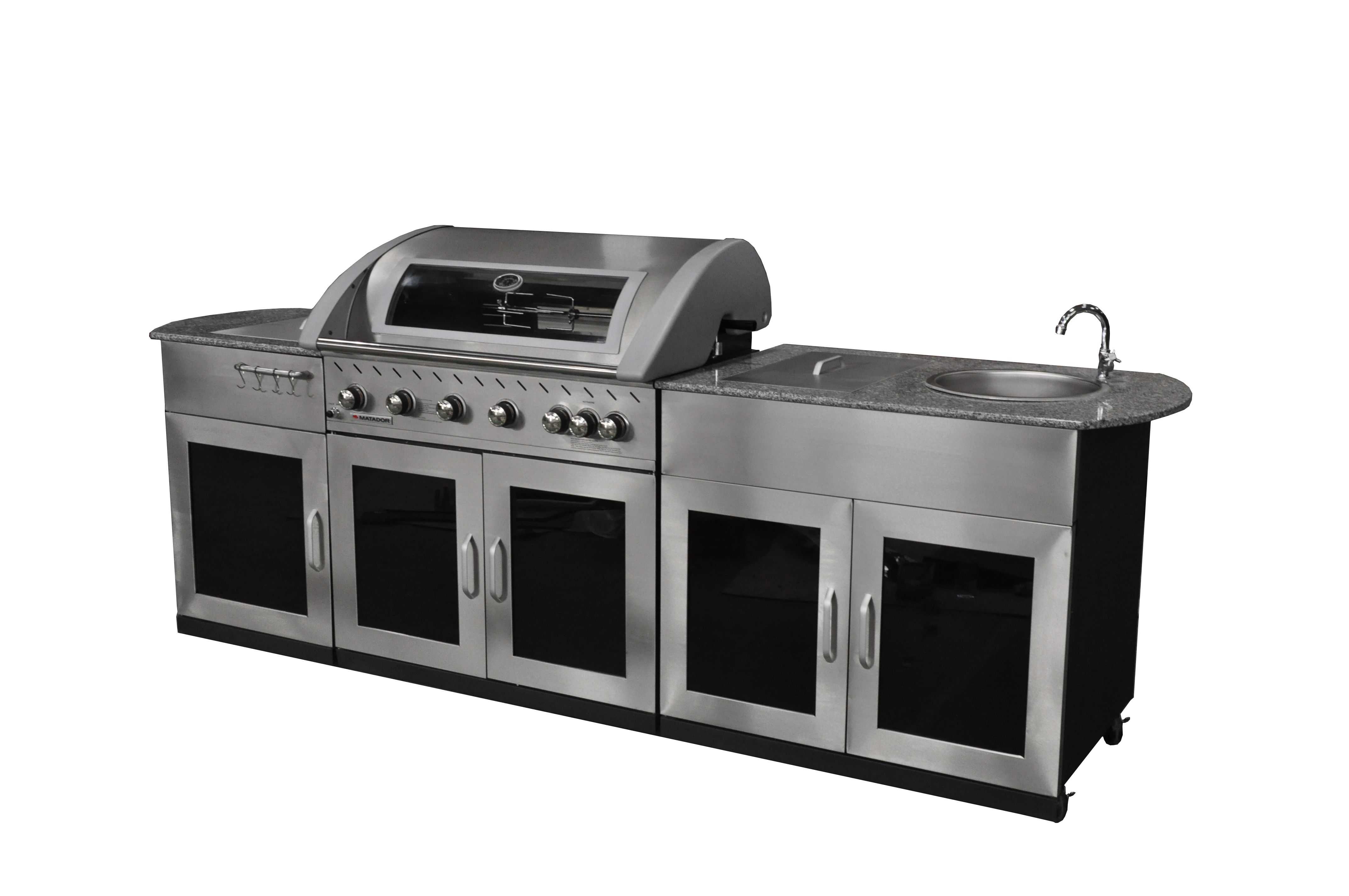 Matador Entertainer WELS 4 Star 7.5L/Minute 6 Burner