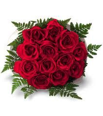 Red Rose Braidesmaid Bouquet