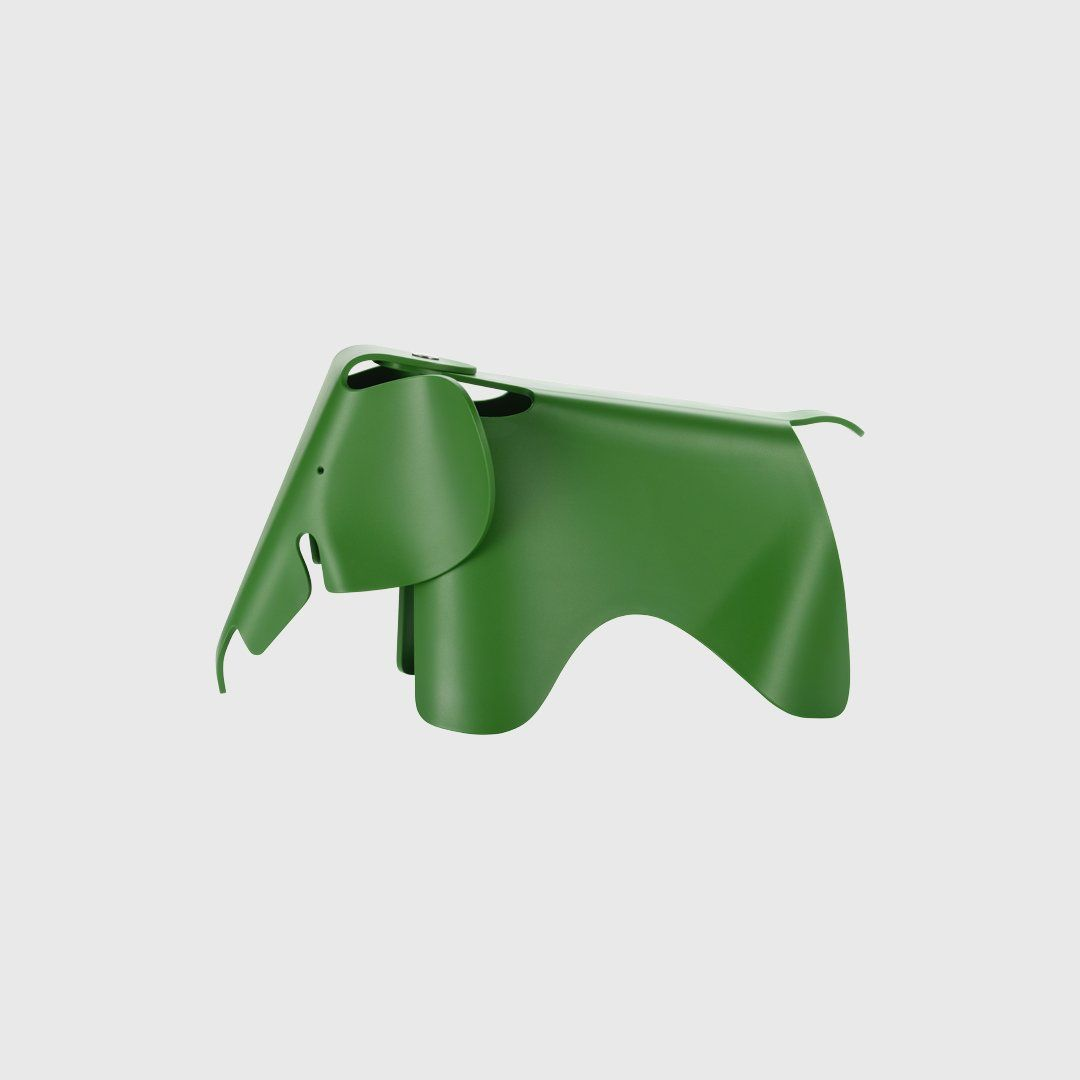 Eames® Small Elephant in Palm Green Vitra (With images