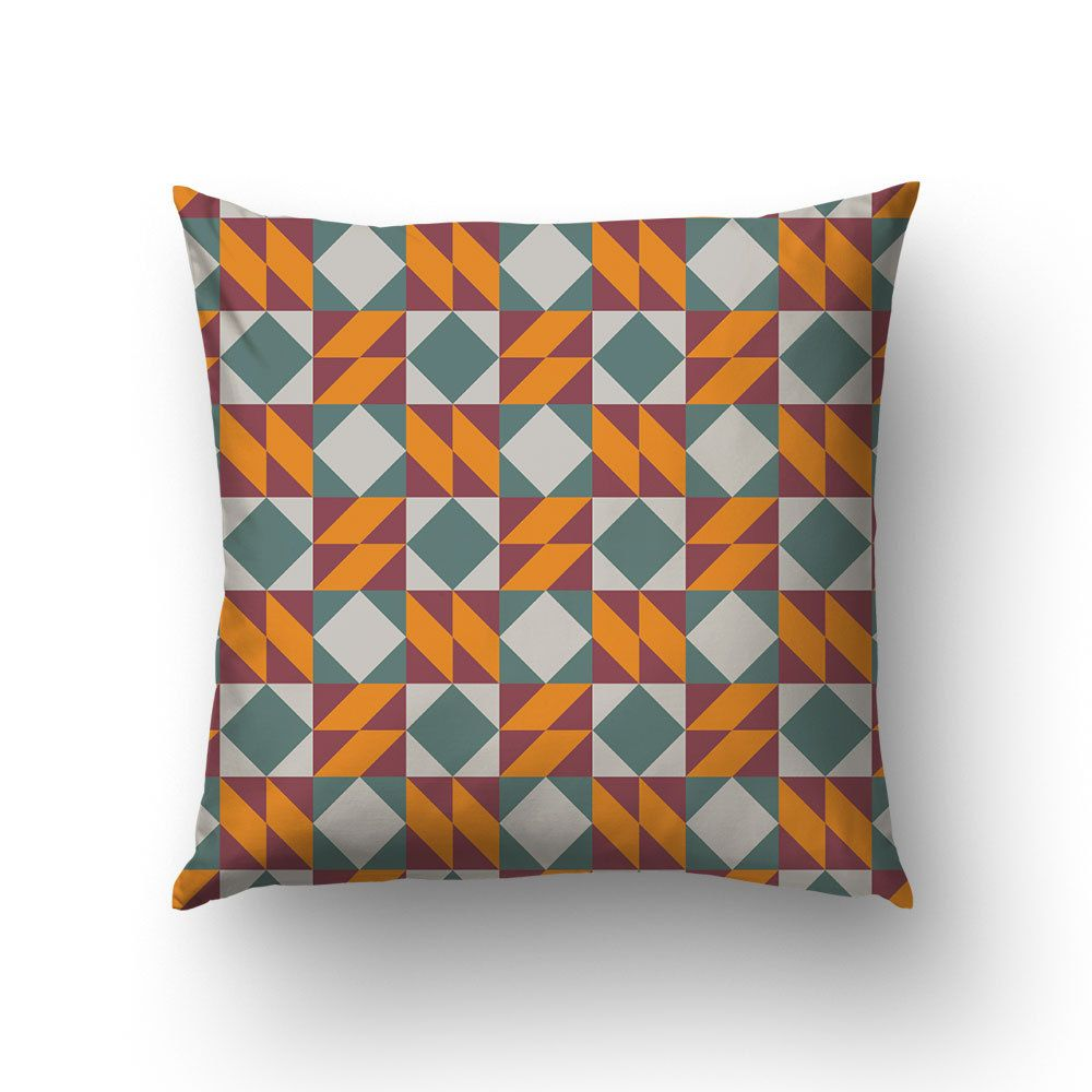 Barcelona design throw pillow modernist pattern graphic pillow barcelona design throw pillow modernist pattern graphic pillow ceramic tile art canvas dailygadgetfo Choice Image