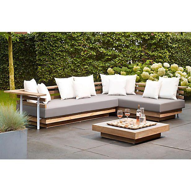 life outdoor living lounge set london de fraaie strakke hoekbank is gemaakt van gerecycled. Black Bedroom Furniture Sets. Home Design Ideas