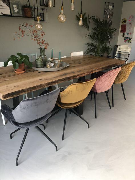 Lok Living   Stoere meubels - betonlook tafels, designstoelen.