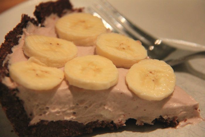 Dairy Free Banana Cream Pie #dairy free #gluten free #Low FODMAP