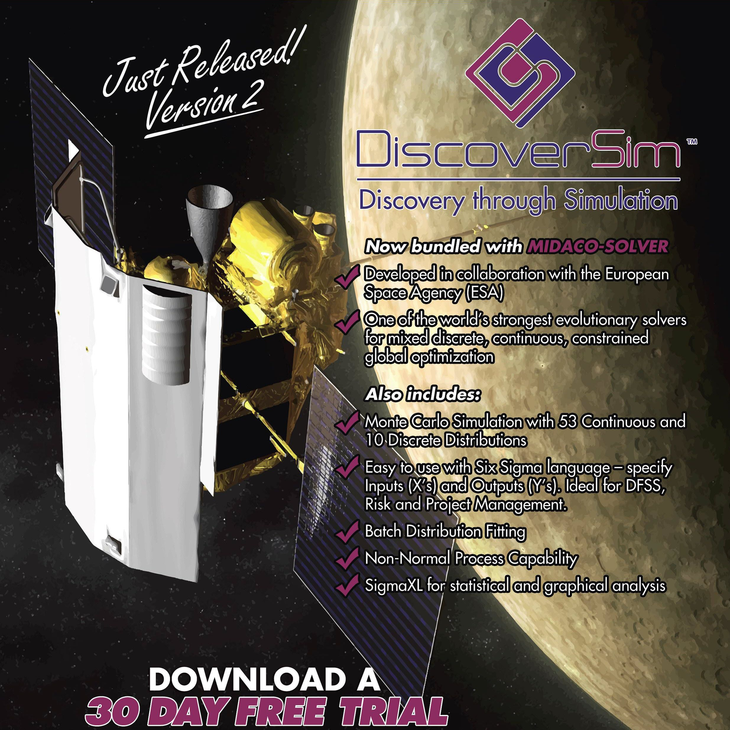 Sigmaxl Inc Announces Release Of Discoversim Version  Kitchener