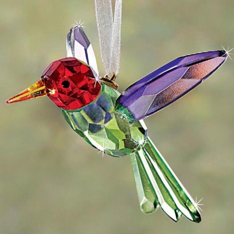 CRYSTAL Hummingbird Suncatcher Ornament COLLECTOR NEW