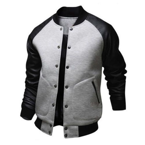 b086d7c6ca85d Baseball Style Bomber Jacket | Menswearboard | Baseball jacket men ...