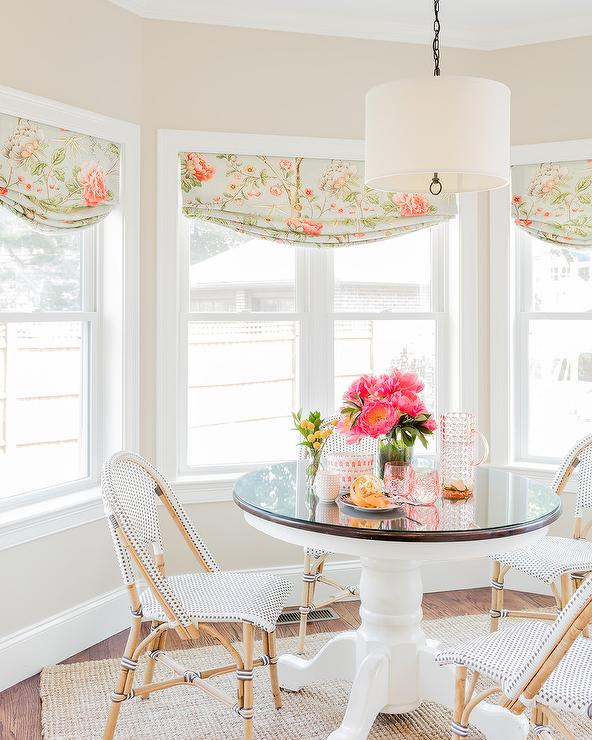 Breakfast Nook Bay Window with Pink and in 2020