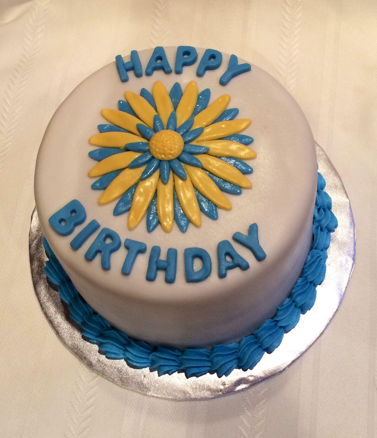 Daisy Birthday Cake Cakes Ive Made Pinterest Birthday Cakes