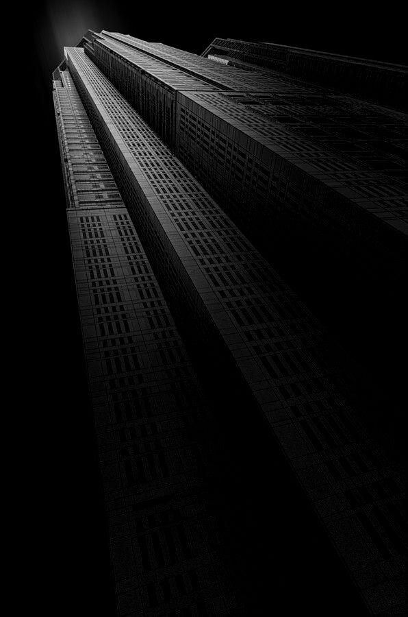Skyscraper in the Night